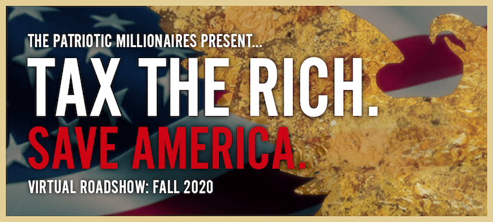 Tax The Rich. Save America.